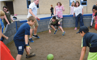 Gaga Ball at St. Albans City School