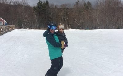 I'm Emmy and my play is downhill skiing!