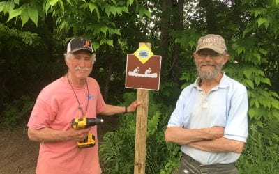 Jeffersonville Community Adds to the Lamoille Paddlers Trail