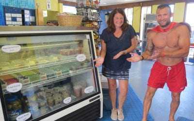 Swimmers Flip Turn into Healthier Snack Options at City Pool